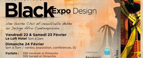 Marie-Eve-Lyne, porte-parole de «Black Expo Design», 2013